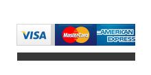Visa Master Card American Express Accepted